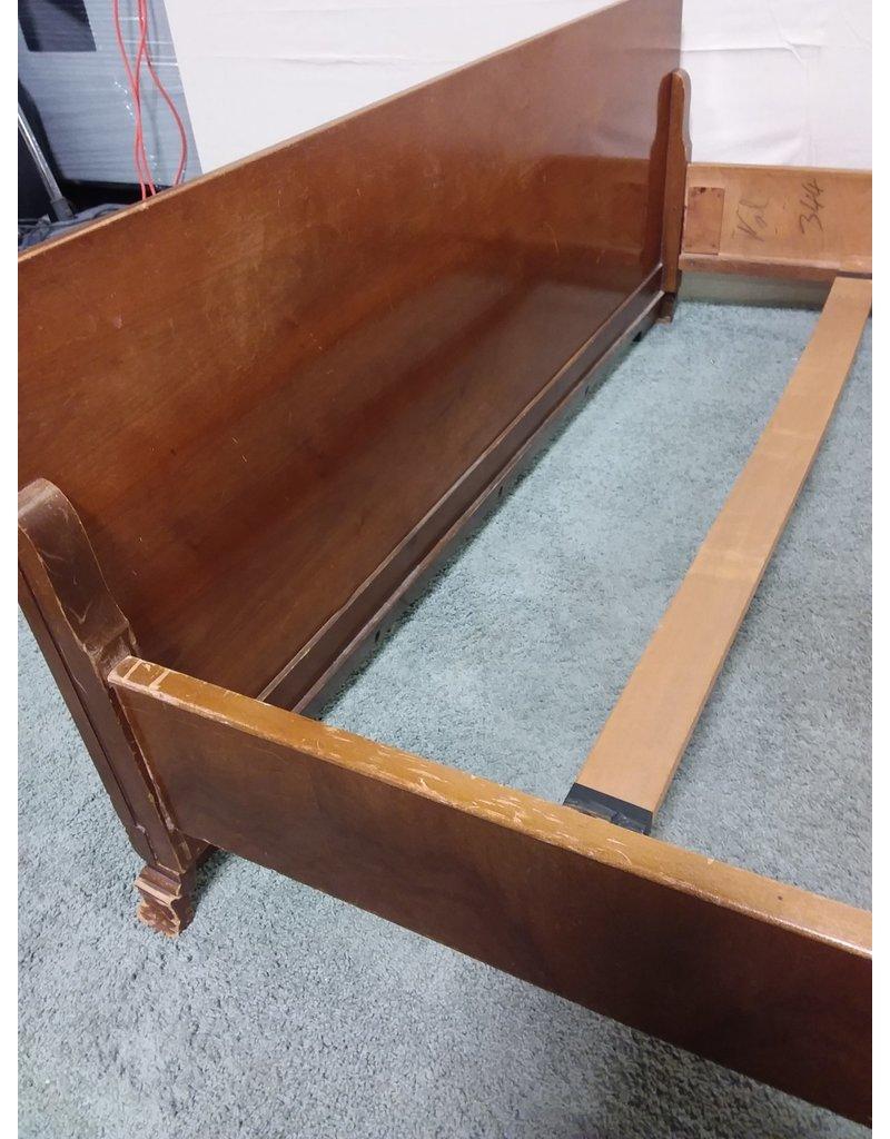 Studio District Antique wood bed frame