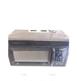 North York GE black microwave