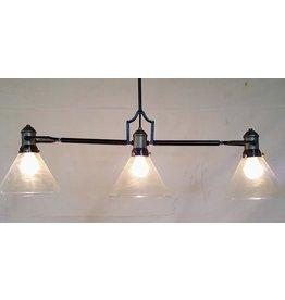 East York 3 Light chandelier - Adjustable length