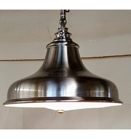 East York Brushed chrome chandelier