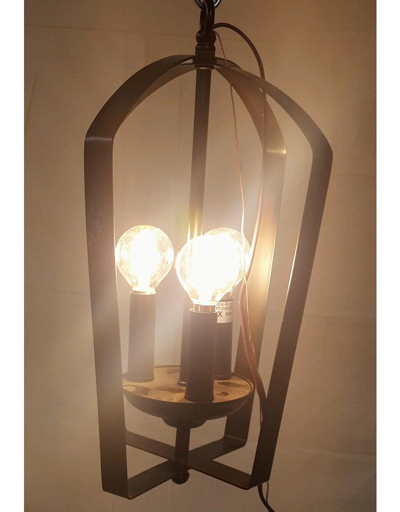 Wrought Iron Chandelier Lights