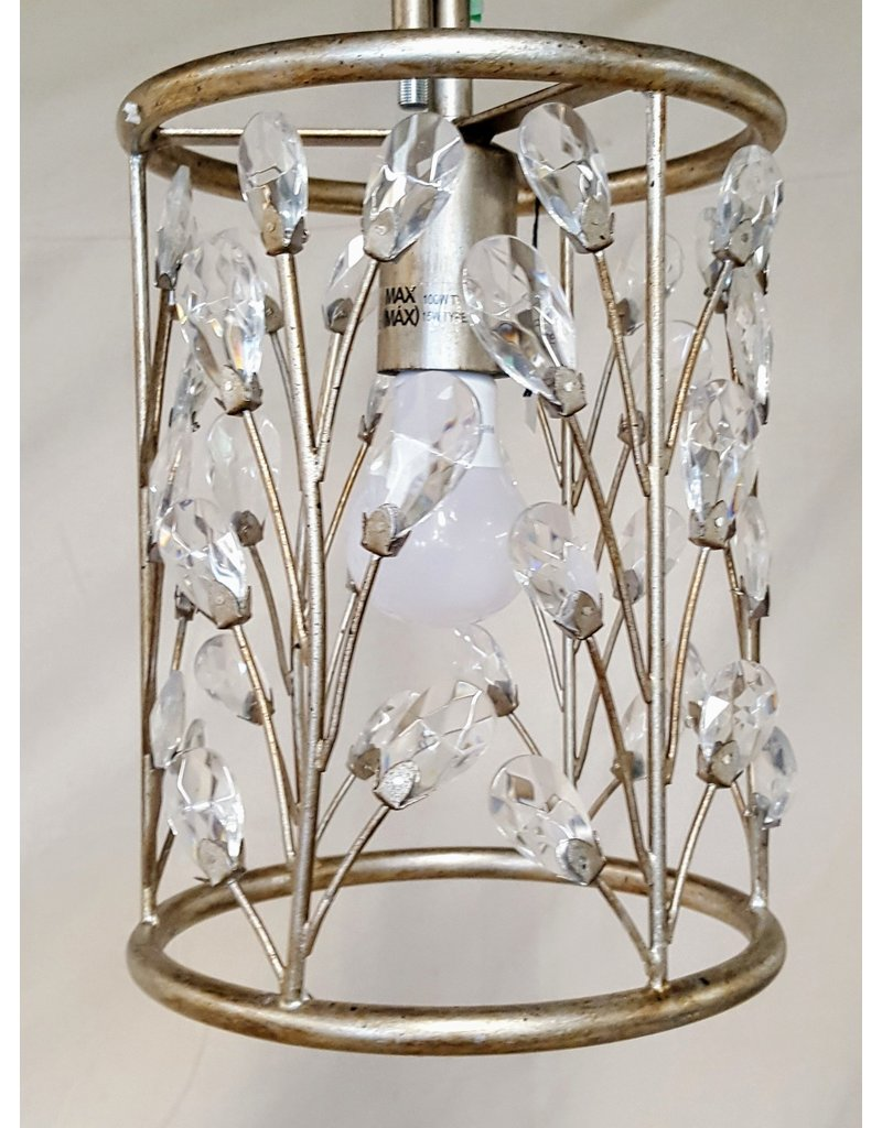 East York Ceiling fixture with crystals