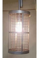 East York 1 light cage chandelier
