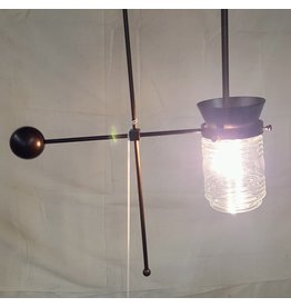 East York Mason jar pendant light