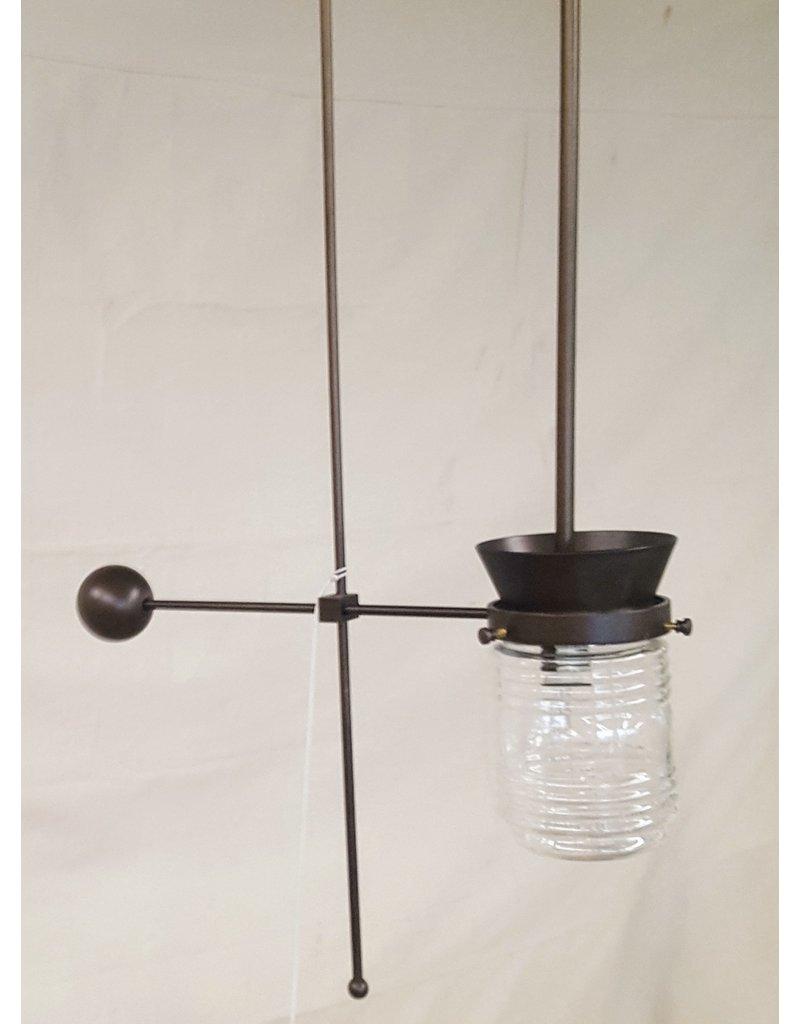 East York Mason jar pendant light