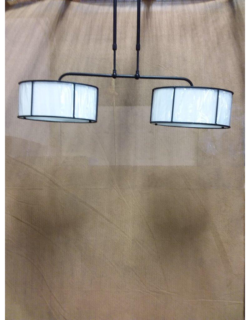 North York 2 bulb hanging light fixture