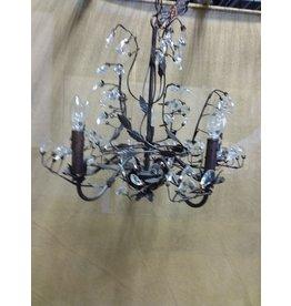 North York Crystal pendant leafy style chandelier
