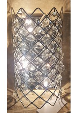 East York Crystal wall sconce - chrome