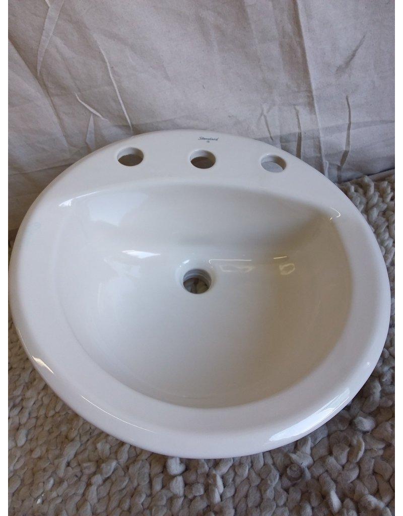 North York American standard 3 hole sink