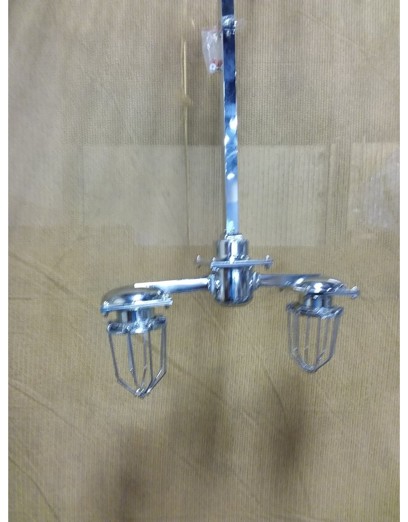 North York 2 bulb industrial style light fixture