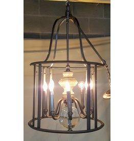 East York 8 light chandelier