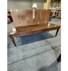 Markham West Carved coffee table