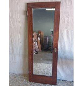 North York Oak door with mirror