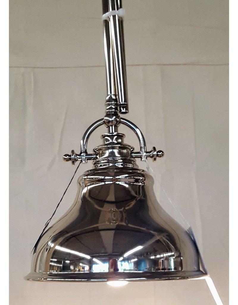 East York Single light chandelier - chrome