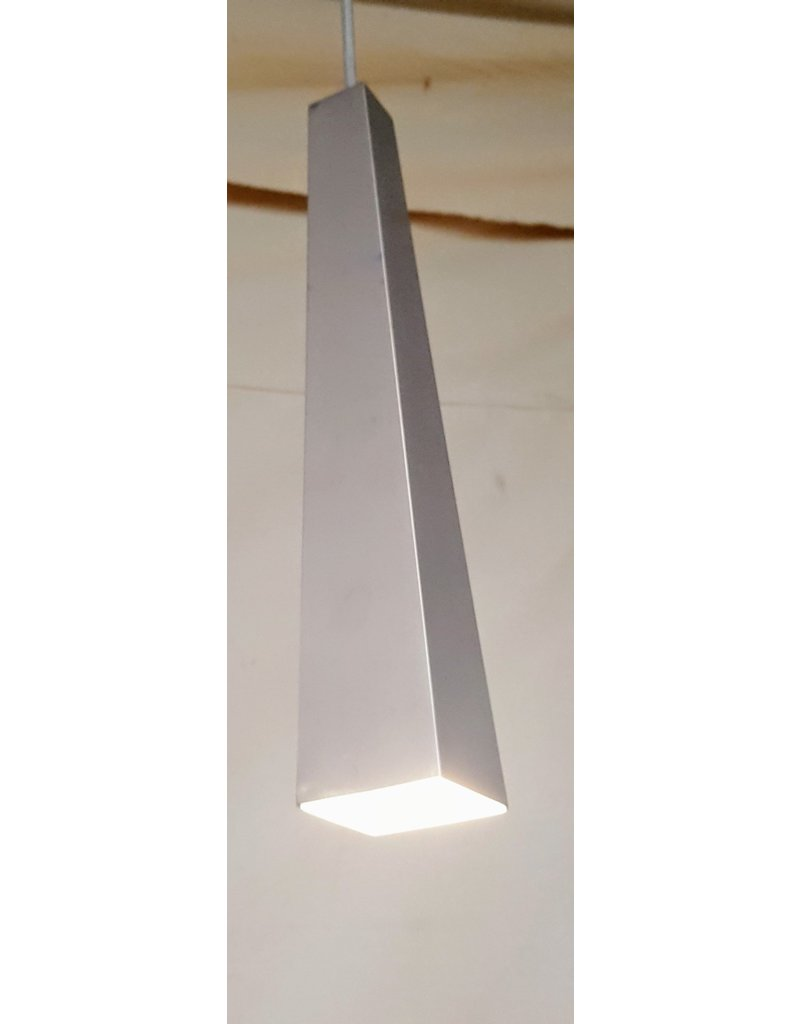 East York Brushed chrome pendant - LED