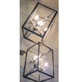 East York Eight light chandelier