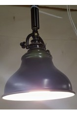 East York Single light chandelier - bronze