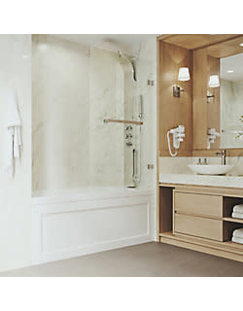 "Vaughan VIGO 34"" Bathtub Door"