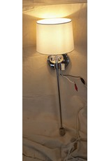East York Polished nickel wall sconce