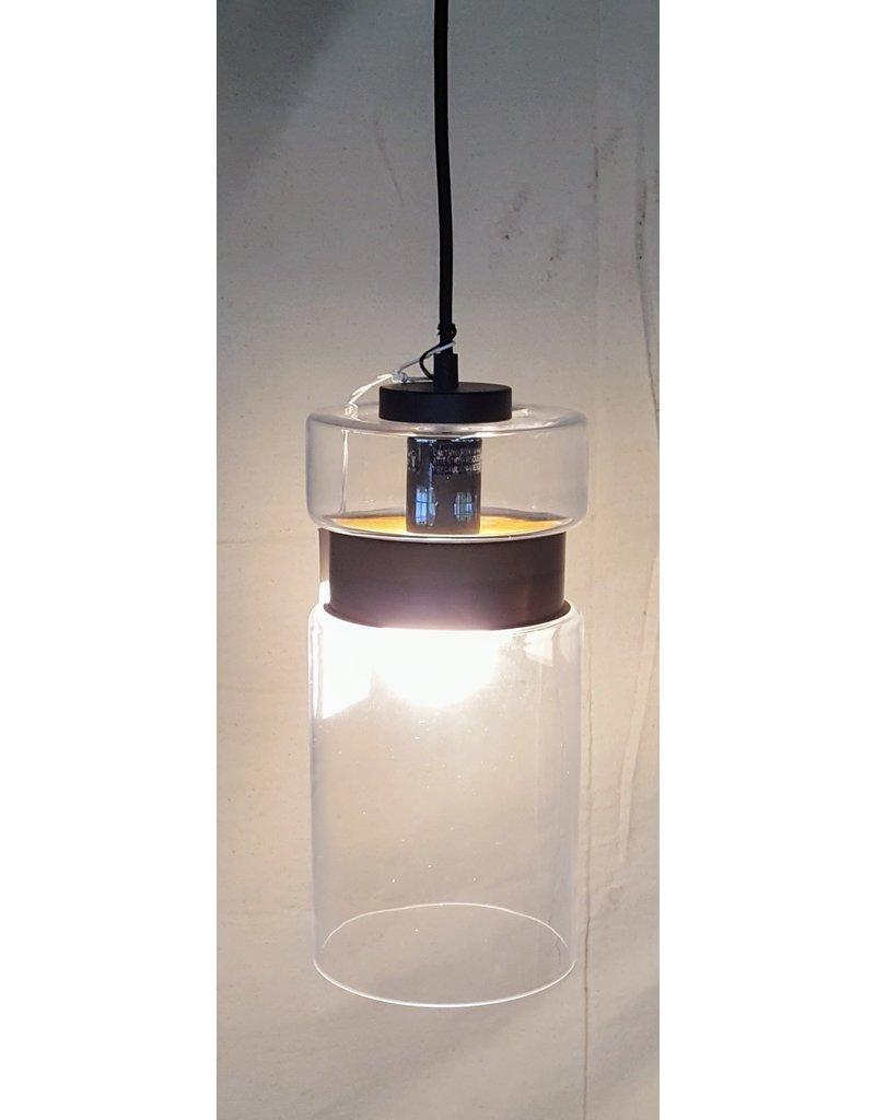 East York Black chandelier - single light