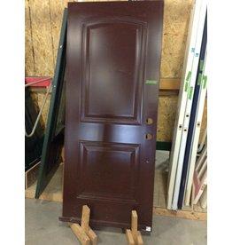 Markham West Dark brown metal clad door