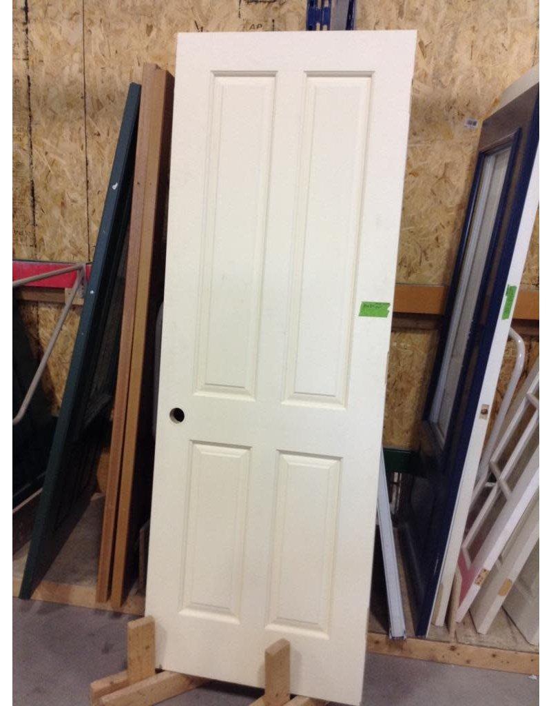 Markham West Solid wood 4 panel door