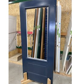 Markham West Metal clad door with cut out frame