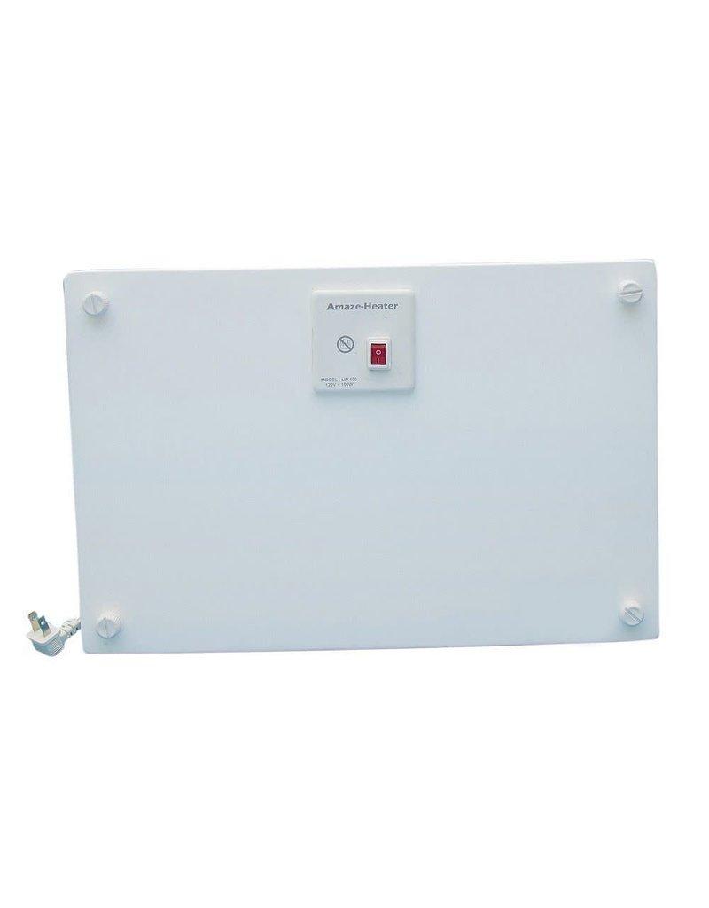 East York Amaze Heater 100-Watt Ceramic Electrical Under The Desk Space Heater With Ezymount Stands