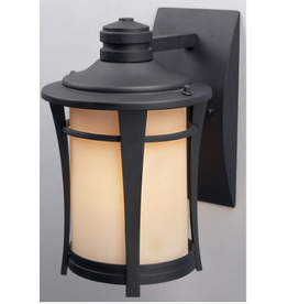 East York MAYA Outdoor Downlight with Flat Opal Glass and Black finish