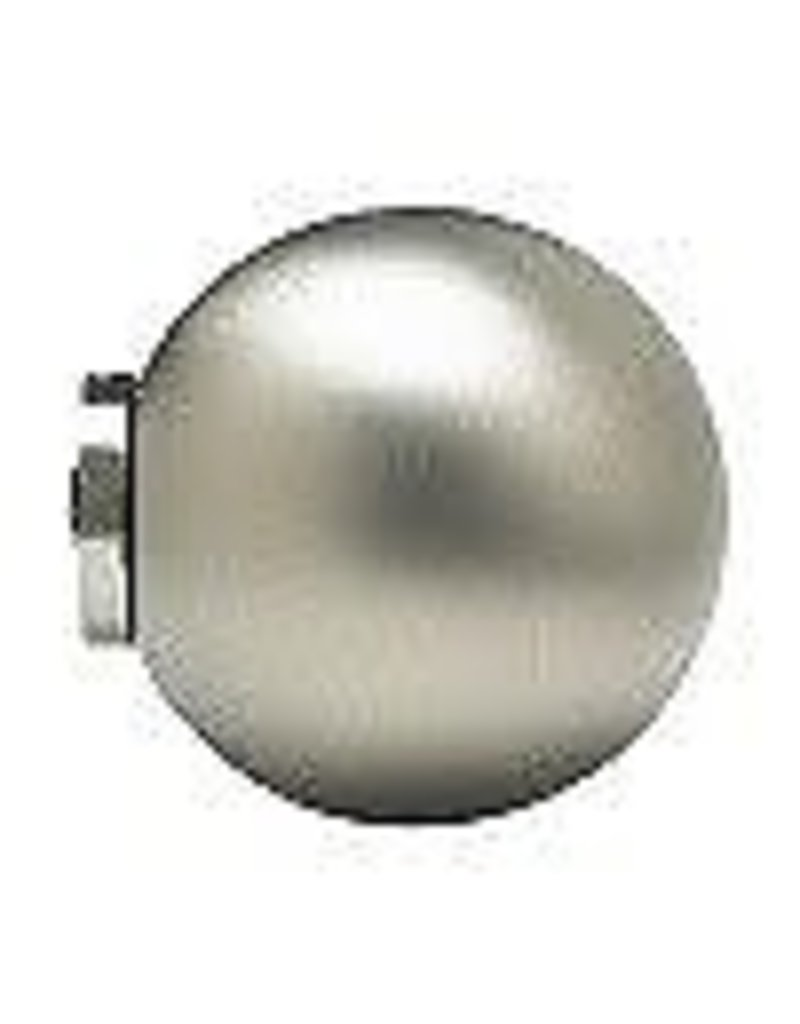 East York Home Decorators Collection 5/8-inch Café Rod Ball in Satin Nickel