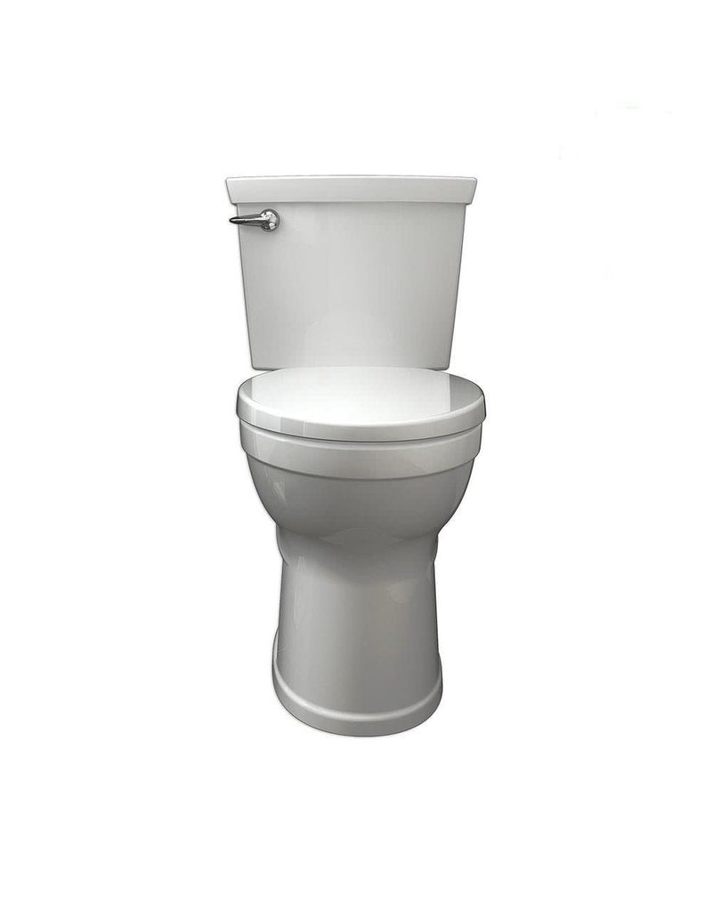 East York American Standard Champion 4 4.8 LPF 2-Piece Right Height Elongated Single Flush Bowl Toilet in White