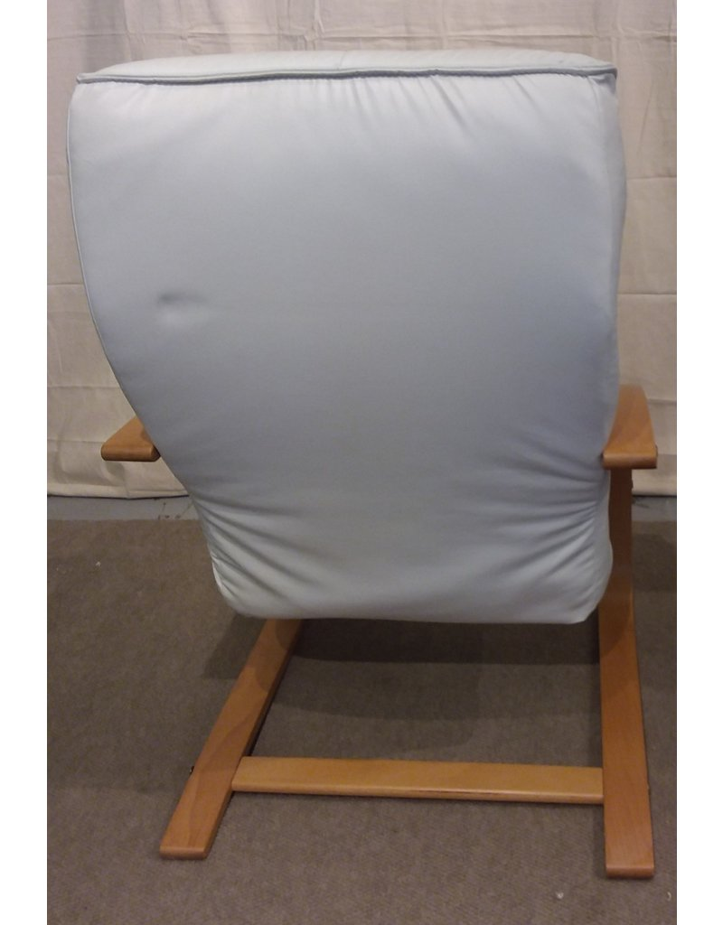 Vaughan White Leather Chair