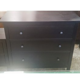 East York 3 Drawer set - Black