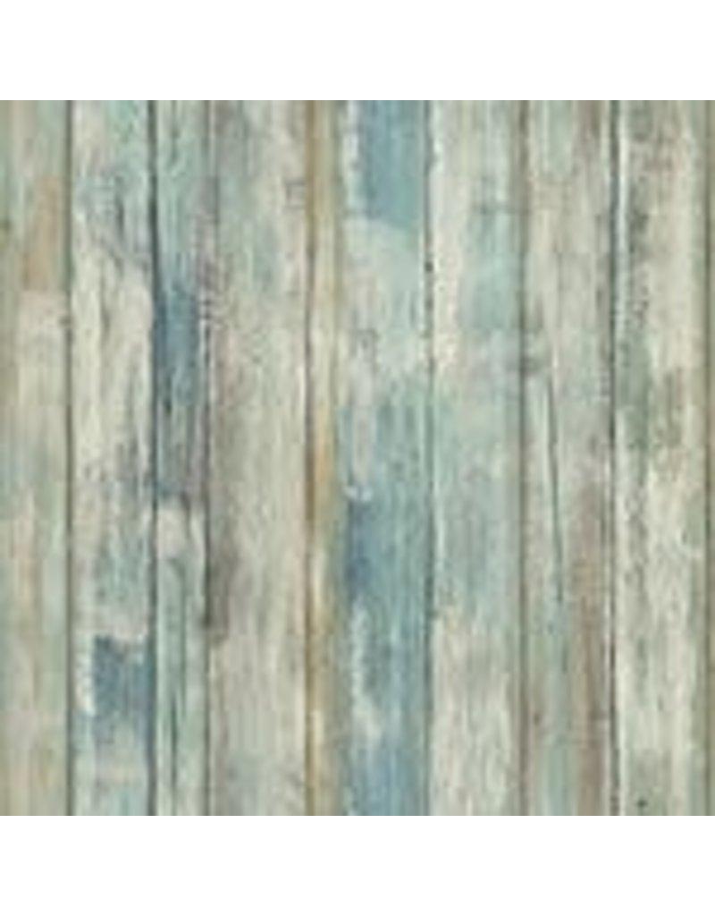 Brampton Wallpaper - Weathered Planks