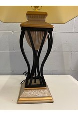 North York black and gold lamp