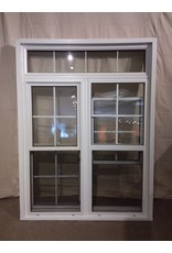 Vaughan 2x-Sliding Window with Screen and Transom