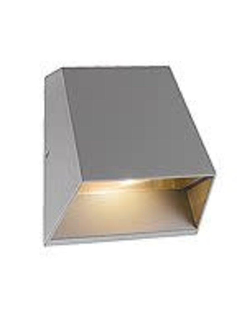 Studio District Kilo 1Light LED Outdoor Wall Mount, Marine Grey Finish