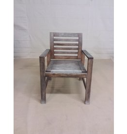 Studio District Distressed Patio Chair