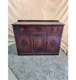Markham West Dark solid wood sideboard
