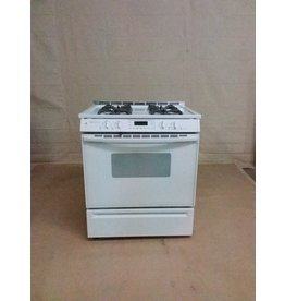 Studio District White Jennair Gas Stove