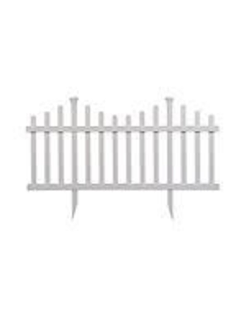 Vaughan 2.5' x 5'Garden Picket Fence Kit