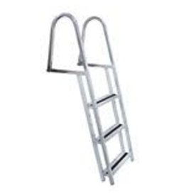 "Studio District Pool or Deck Edge "" Stand Off Aluminum Dock Ladder 4 Step"