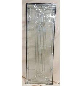 """East York 64"""" by 22"""" Glass exterior door insert"""