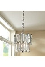 Studio District 4-Light Chrome Convertible Semi-Flushmount or Pendant
