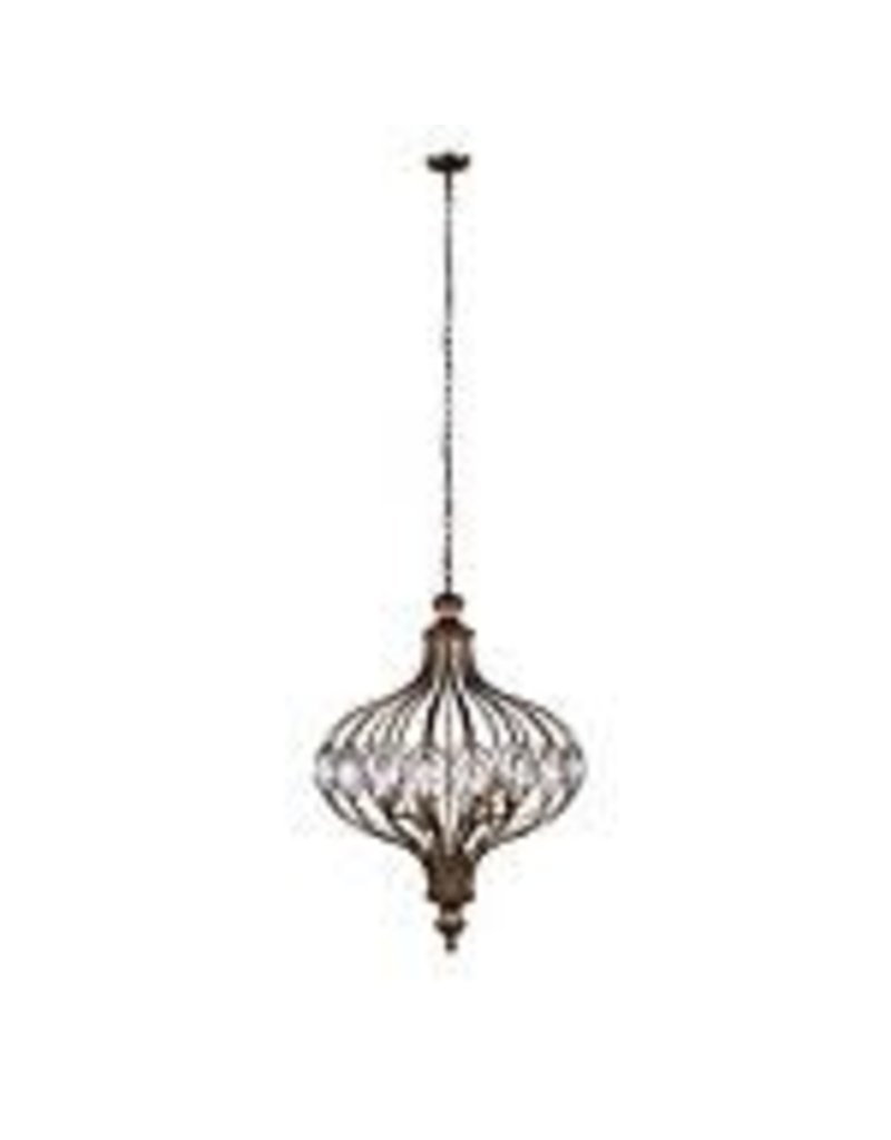 Studio District Altair 14 inch 3 Light Chandelier with Antique Bronze Finish