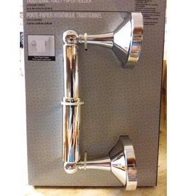 Vaughan HT Chrome Toilet Paper Holder