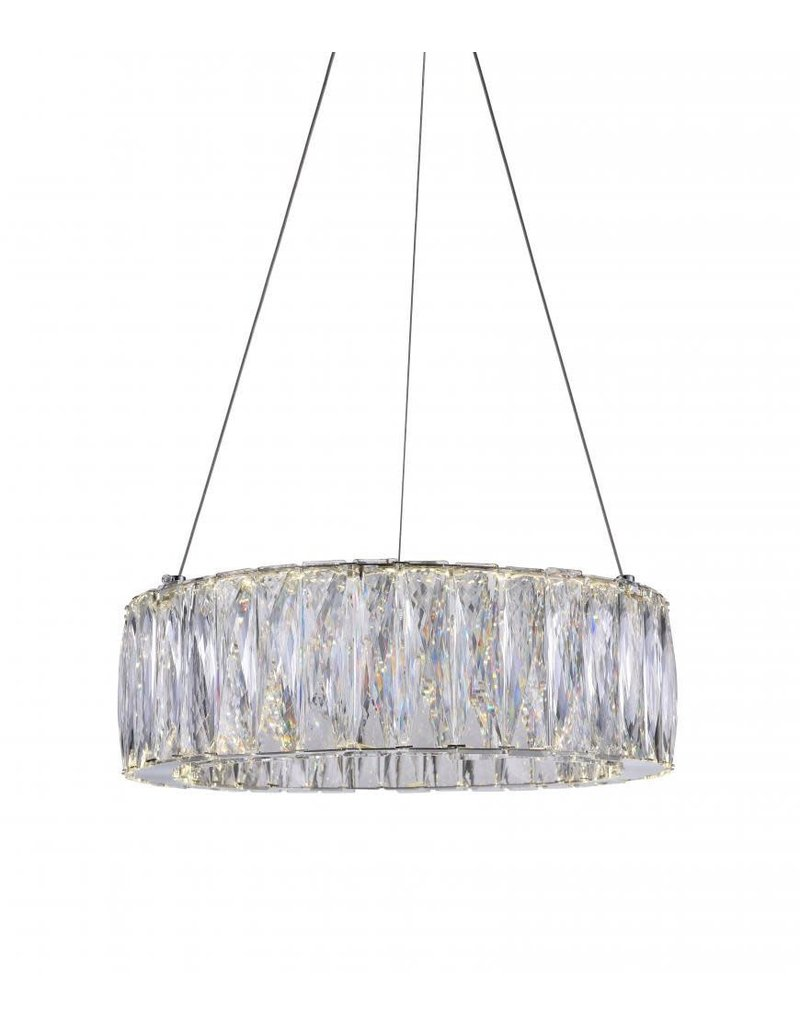 Studio District LED Chandelier with Chrome finish (5704P16-1-601-B)