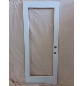 Markham West Masonite door with insert cutout
