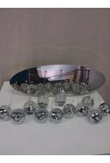 North York Glass globe pendant light fixture