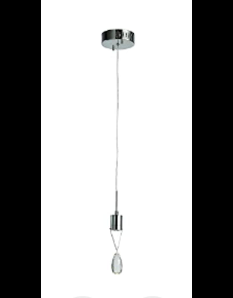 Vaughan Bejeweled 1 Crystal LED Drop Pendant